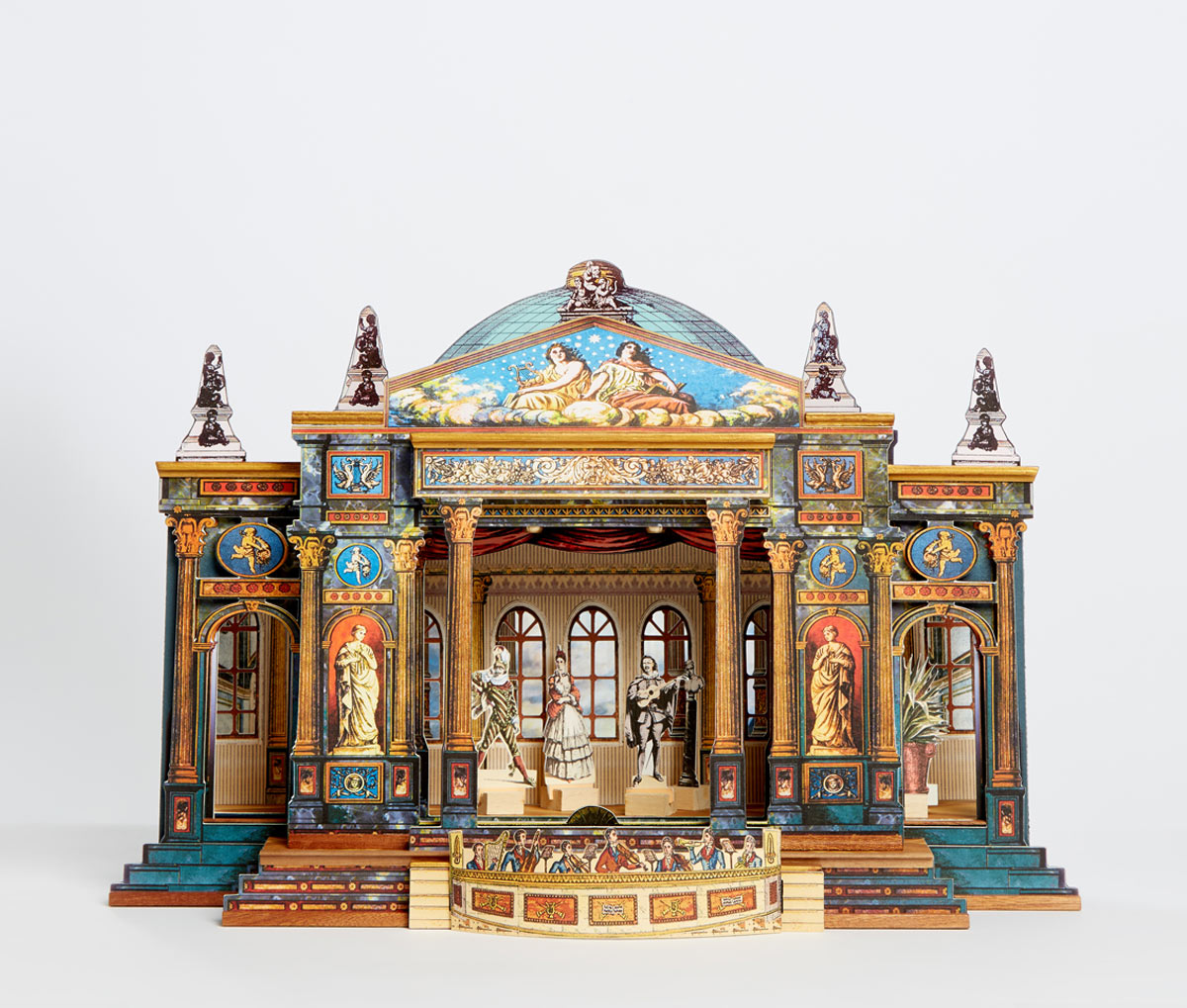Auric S Ultimate R 234 Ve Theatre Toy Theatre From