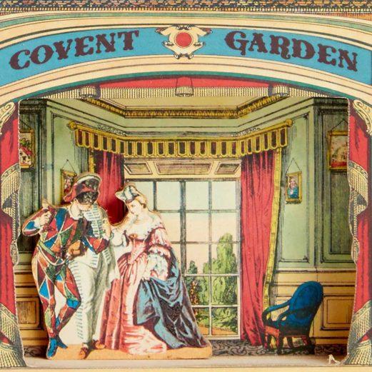 Decorative Pollocks Covent Garden Model Theatre Benjamin Pollock 39 S Toyshop